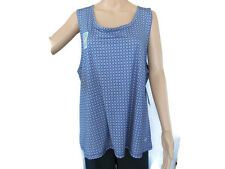 Reel Legends 3X Athletic Workout Tank UPF 50 Keep Cool Gray Yoga NEW $30