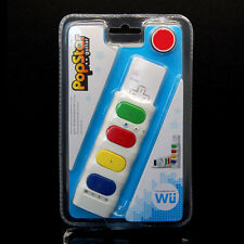 Mini Guitar Musical Pad Remote Controller Adapter for Nintendo Wii Popstar Game