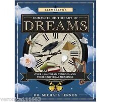 Dictionary of Dreams NEW Book Llewellyn's 1,000 symbols meanings Michael Lennox