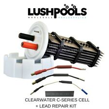 Clearwater Zodiac C250 / C330 Generic Salt Cell S HS7000 + 1/2 LEAD KIT
