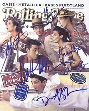 FRIENDS CAST AUTOGRAPHED 8x10 RP PHOTO ANISTON COX PERRY LEBLANC ROLLING STONE