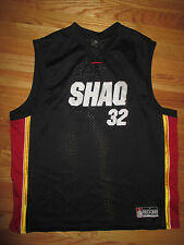 SO32 SHAQUILLE O'NEAL No. 32 MIAMI HEAT - LAKERS - CELTICS (LG) Jersey BLACK GLD