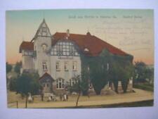 8832 AK Borlas b. Rabenau Gasthof Borlas 20. 9. 1917