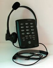 T110 Feature Headset Telephone with British Telecom line cord MUTE Redial FLASH