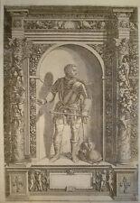 1603 Giovanni de medici dalle bande monofasici RAME Portrait di Custos dopo Fontana