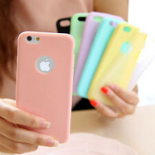Ultra Slim Soft Silicone TPU Back Case Cover For Apple iPhone XS XR SE 6 7 Plus