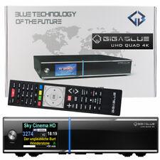 Gigablue QUAD 4K UHD SAT+KABEL DVB-S2 + DVB-C/T2 H.265 HEV HDTV Digital Receiver