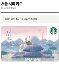 Starbucks Korea 2020 Seoul City Card