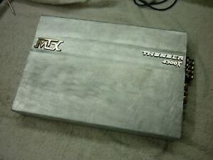 MTX THUNDER 4300X OLD SKOOL 300WRMS 4CH AMP, USA!!!