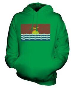 Kiribati Scarabocchiato Bandiera Felpa Unisex Maglia Idea Regalo I-Kiribati
