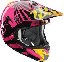 Fibreglass Motocross & ATV Plain Matt Motorcycle Helmets