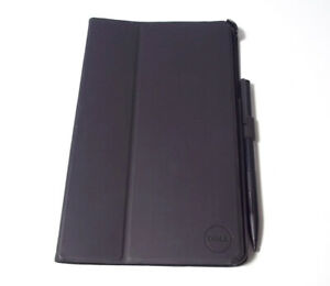 Genuine Dell Venue 8 Pro 5830 Tablet Soft Touch Case P7M90 Black with Stylus Pen