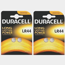 Genuine 4 Duracell LR44 AG13 PX76A Alkaline BATTERIES (BATTERY) 2020 UK SELLER