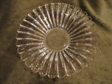 Crystolite Heisey Flared Center Piece or Large Bowl Serving 10-1/4 in W Vintage