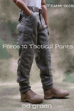 1/6 Soldier OD Green Tactical Pants Combat Trousers F 12'' Male Figure