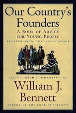 Our Country's Founders: A Book of Advice for Young People-ExLibrary