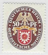 Deutsches Reich de 1933/45 ** post frescos MiNr .434 - valor máximo de nothilfesatz
