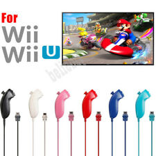 For Classic Wii Wii U Console Nunchuck Nunchuk Video Game Controller Remote US