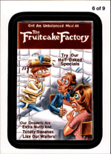 2013 Wacky Packages Series 11 Rude Food #6 The Fruitcake Factory