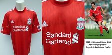 2010-12 Liverpool home shirt signed by club legend Robbie Fowler (15692)