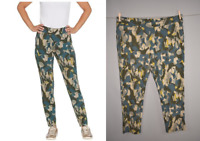 LOGO LOUNGE LORI GOLDSTEIN NEW $72 Printed French Terry Pull-On Pant 2X