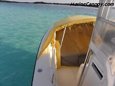 Marine Bow Dodger center console boat 30' - 36' Boat bow shade cover Bimini Top