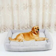 Pet Dog Cat Bed Orthopedic Large Dog Breed Dog House Cage Kennel Puppy Pillow