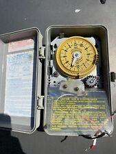 R8806P101C Intermatic program time switch w/14 day skipper Dpst 25amp 2 hp 240 v