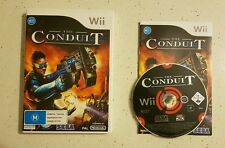 The Conduit (Nintendo Wii) Complete VGC Shooter Sega FPS