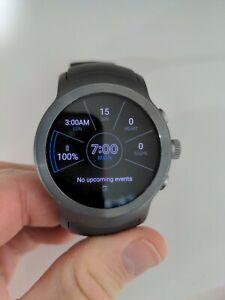 LG Watch Sport W280A 45.4mm Titanium Stainless Steel