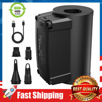 Quick-Fill Electric Air Pump Rechargeable Inflator for Inflating/Deflating