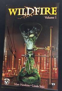 WILDFIRE Trade Paperback *signed x2 Hawkins & Sejic - Image Comics