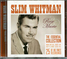 SLIM WHITMAN ROSE MARIE CD - INDIAN LOVE CALL, SECRET LOVE & MORE