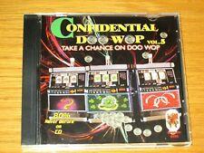 """USED DOO WOP CD - VARIOUS ARTISTS - """"CONFIDENTIAL DOO WOP"""" Vol. 5"""