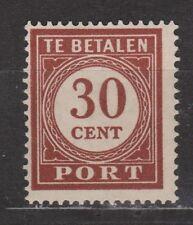 Port nr 61 MLH ong Nederlands Indie Netherlands Indies Indonesia due portzegel