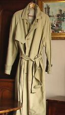 manteau cuir de veau ZEILER - Kalb Leder Mantel - calf Leather Coat  XXL 54<>56
