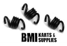 Black Springs Set of 3 for Noram Stinger Clutch, Racing Go Kart Mini Bike - New