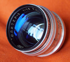 JUPITER - 3 ultra veloce 1.5/50mm LENS in Leica M39 vite Monte-Eccellente & altamente