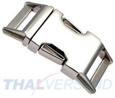 Metall Steckschnalle ( Steckschließer ) 20mm Zinkdruckguss 3001 Klickverschluss