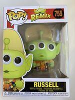 Funko Pop! Disney Pixar Alien Remix: UP - RUSSEL 755 - BNIB