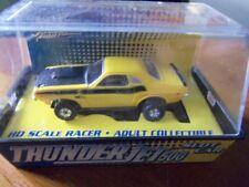 70 Dodge Challenger T/A 340 Six Pack Ho Slot Car Johnny Lightning Thunderjet