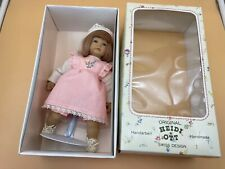 Heidi Ott Vinyl Doll 8 11/16in Top Conditino