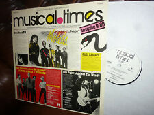 Musical Times 9/80, Iron Maiden, Cliff Richard, Whitesnake, America LP PR-Copy