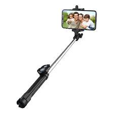 Extendable Selfie Stick Tripod Remote Bluetooth Shutter Fit iPhone 6 7 Plus 8 X