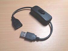 InLine 5V USB on/off interruttore di alimentazione per Arduino, Raspberry Pi (18.5 cm)
