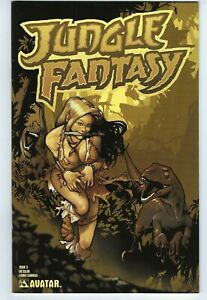 Jungle Fantasy #3  Fauna Cabrera Version  Avatar  9.4 NM  Cavewoman Wantabe