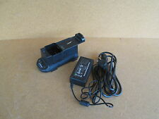 EF Johnson Ascend ES 5100 handheld radio battery charger 585-5100-210 + P.S.