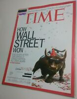 TIME Magazine 9/23/2013 How Wallstreet Won the Great Recession [Near Mint issue]