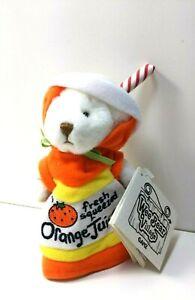 Wee Bear Village Ganz Fresh Squeezed orange juice bear