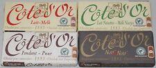 Côte d'Or Gourmetschokolade Mixpaket 4x150g belgische Schokolade Belgien